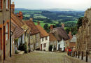 Gold Hill, Shaftesbury, Dorset.