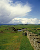 Storm forming over Hadrian's Wall.