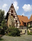 Schlenzger Haus in Spalt, Franconia, Germany.