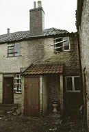 The Trinity area of Frome, Somerset before renovation.