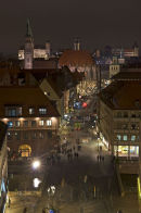 Nuremberg at night.