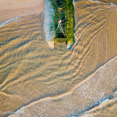 The old outfall pipe at Mablethorpe