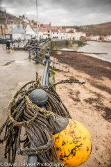 Fishing floats and nets, Staithes, North Yorkshire