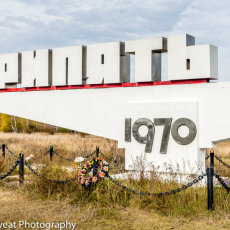 Pripyat city, built to hold the workers and families in 1970 lay directly in the cloud's path.