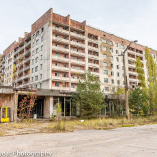 Pripyat now lays abandoned, overgrown, slowly being taken over by nature