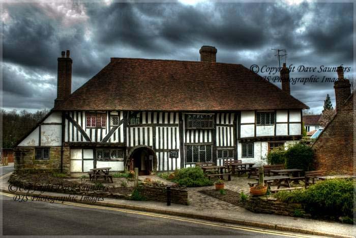 Cottage near Battle Abbey, Battle, England.
