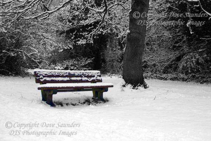 Cold place to sit.