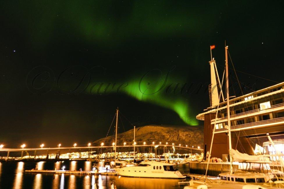 Tromso Harbour, Norway.