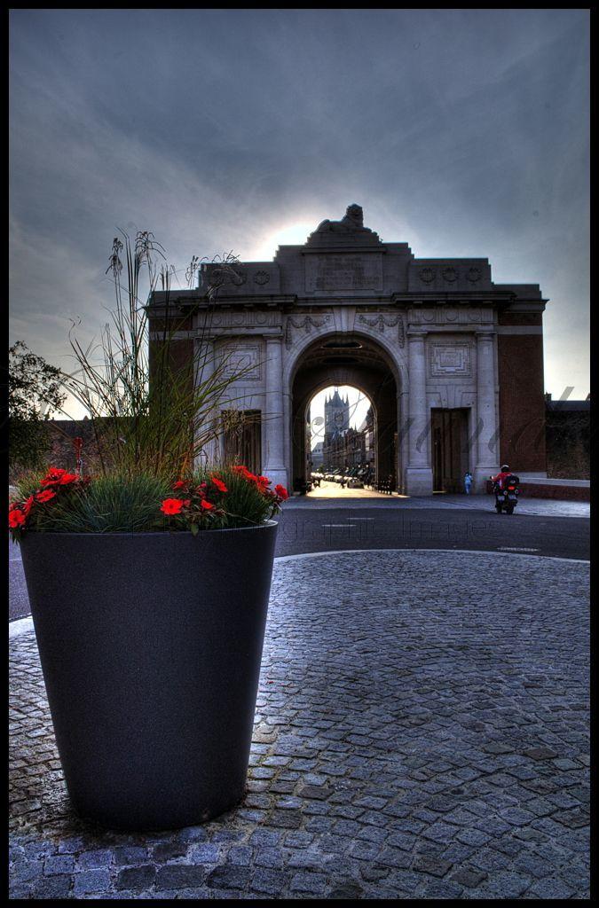 Menin Gate, Ypres, Belgium.
