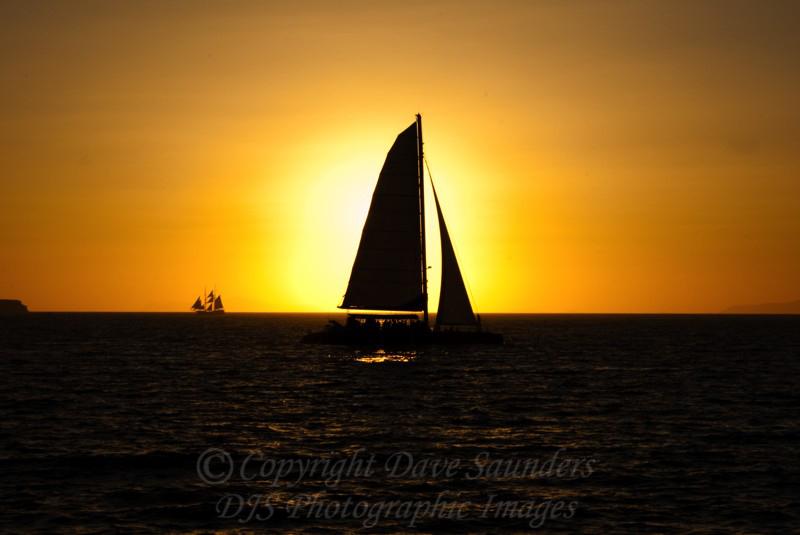 Sunset on the Caldera