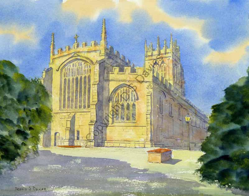All Saints Church, Gresford, Wrexham - SOLD