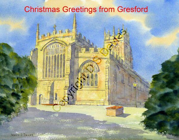 Christmas Greetings Gresford 1