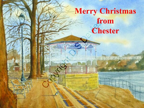 Merry Christmas Chester Bandstand