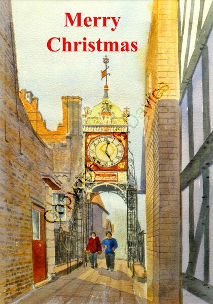 Merry Christmas Chester Clock
