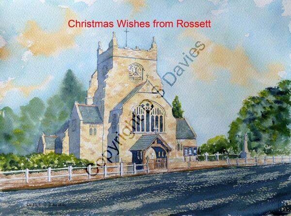 Christmas Rossett Church 1