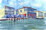The Traghetto, Fish Market, Venice (SOLD)