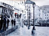 Keeping the Feet Dry, Venice (SOLD)