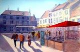 Market Square, Bruges, Belgium.