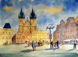 Prague Old Town, Daytime