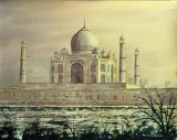 Taj Mahal at Sunset (SOLD)
