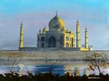 The Taj Mahal at Sunset (2)
