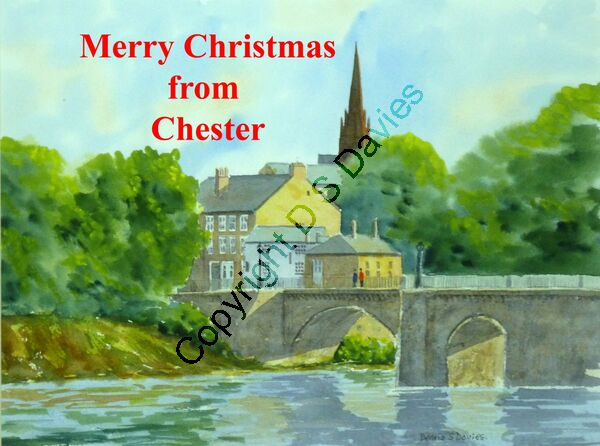 Merry Christmas Chester Bridge