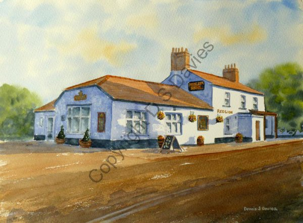 The Red Lion, Marford
