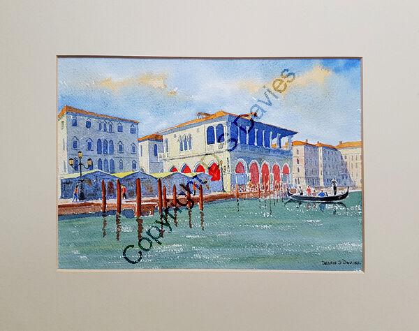 The Traghetto, Venice.