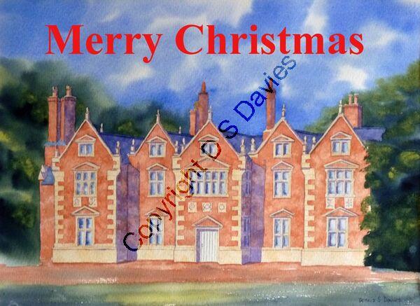 Trevalyn Hall - Christmas Card