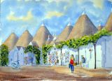 Trulli Houses at Alberobello, Italy - SOLD