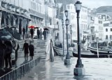 Walking the Boards, Venice (SOLD)