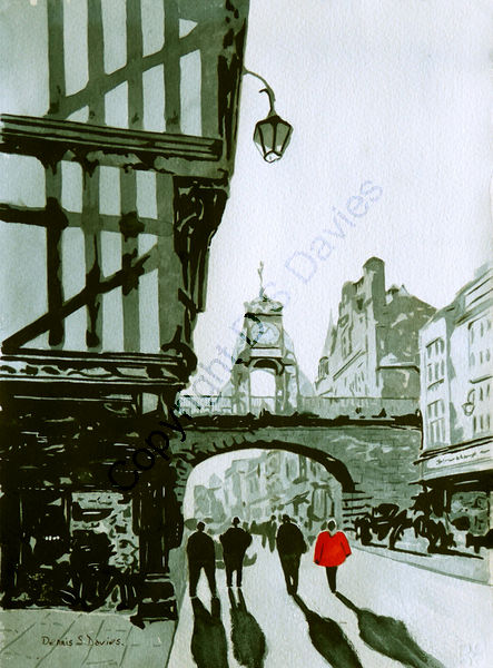 The Eastgate Clock, Chester City Centre - SOLD