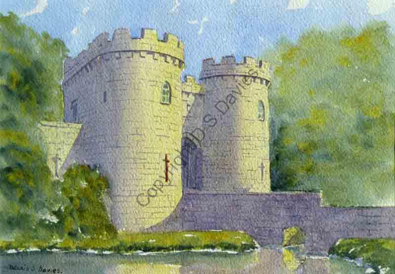 Whittington Castle, Oswestry, Shropshire