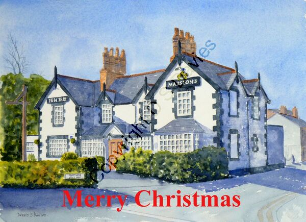 The Yew Tree, Gresford - Christmas