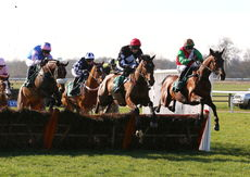 "British Stallion Studs EBF 'NH"" Novices Hurdle."