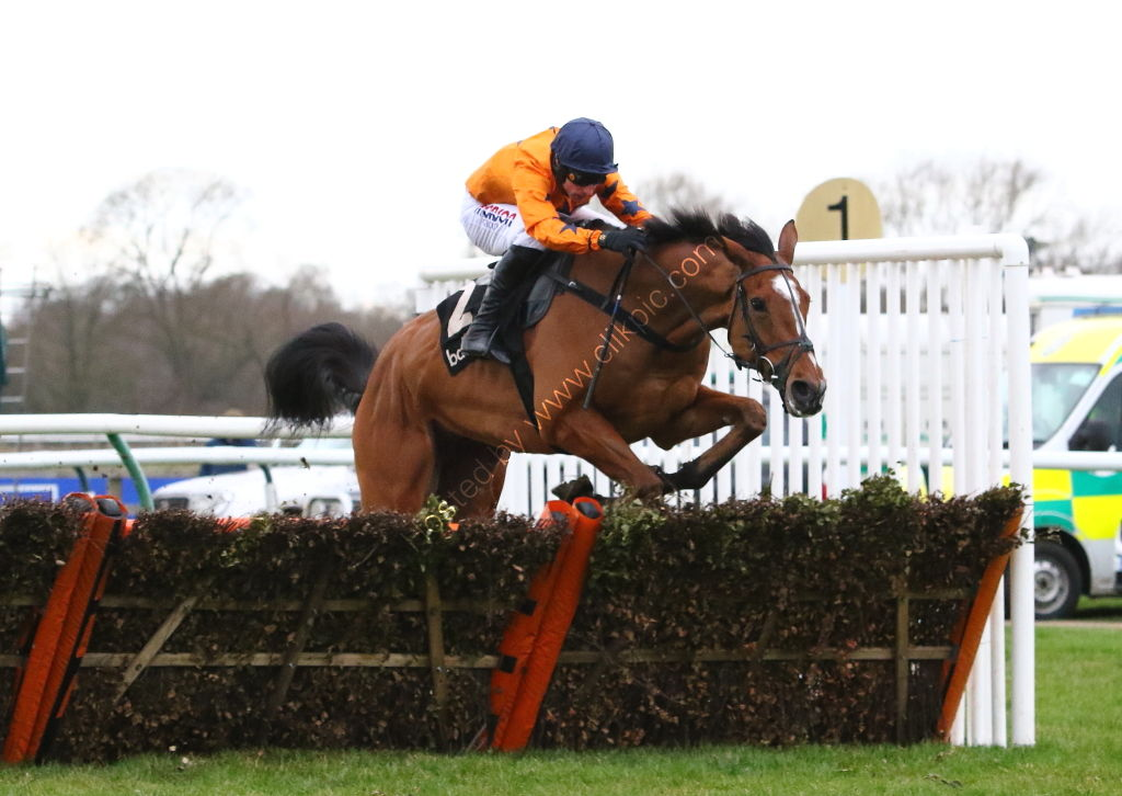 Ballymore Leamington Novices' Hurdle.