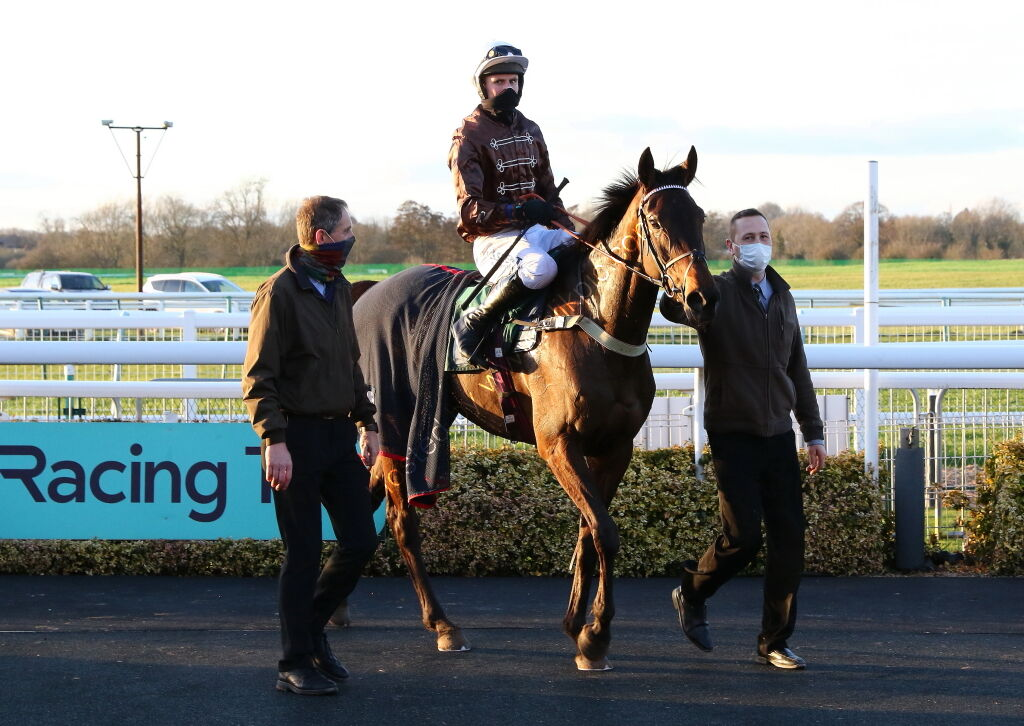 British Stallion Studs EBF Mares' 'NH' Flat Race