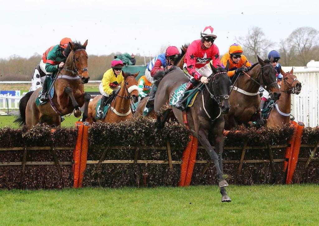 Racing TV Novices' H'cap Hurdle