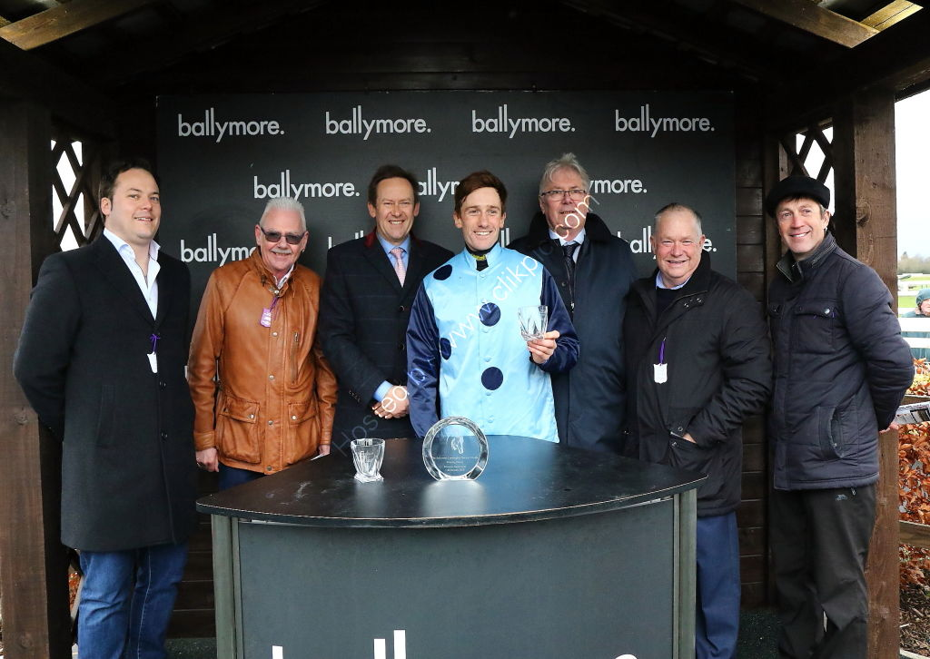 Ballymore Leamington Novices' Hurdle.