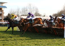 Racingtv.com Hands And Heels H'cap hurdle.