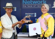 Pertemps Network Jockey Club Challenge Charity Race.