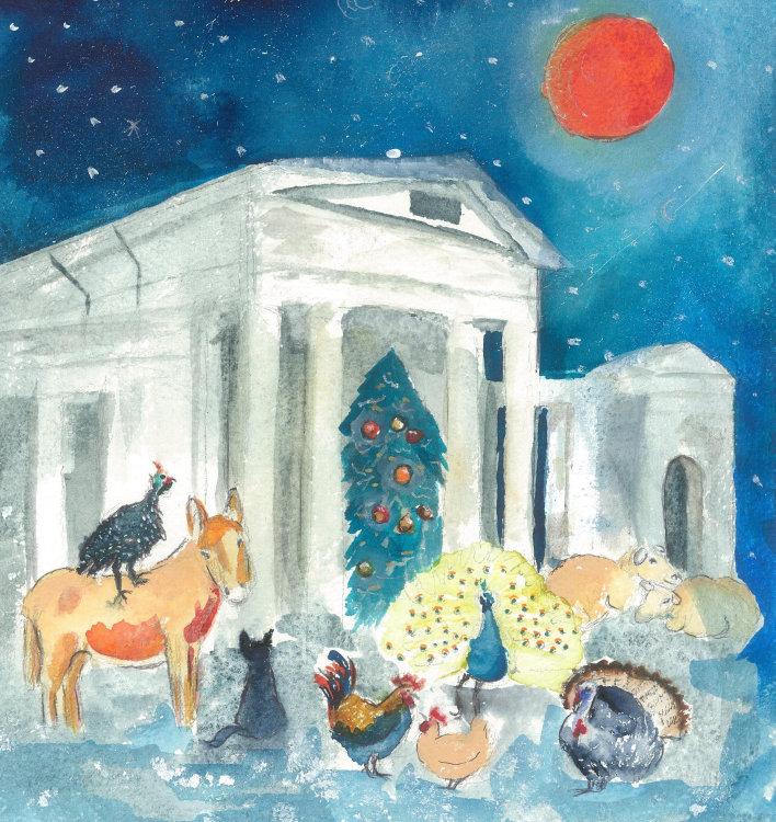 Ayot St Lawrence - Christmas Card