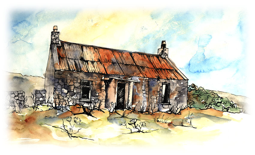 117 The Ruined Cottage