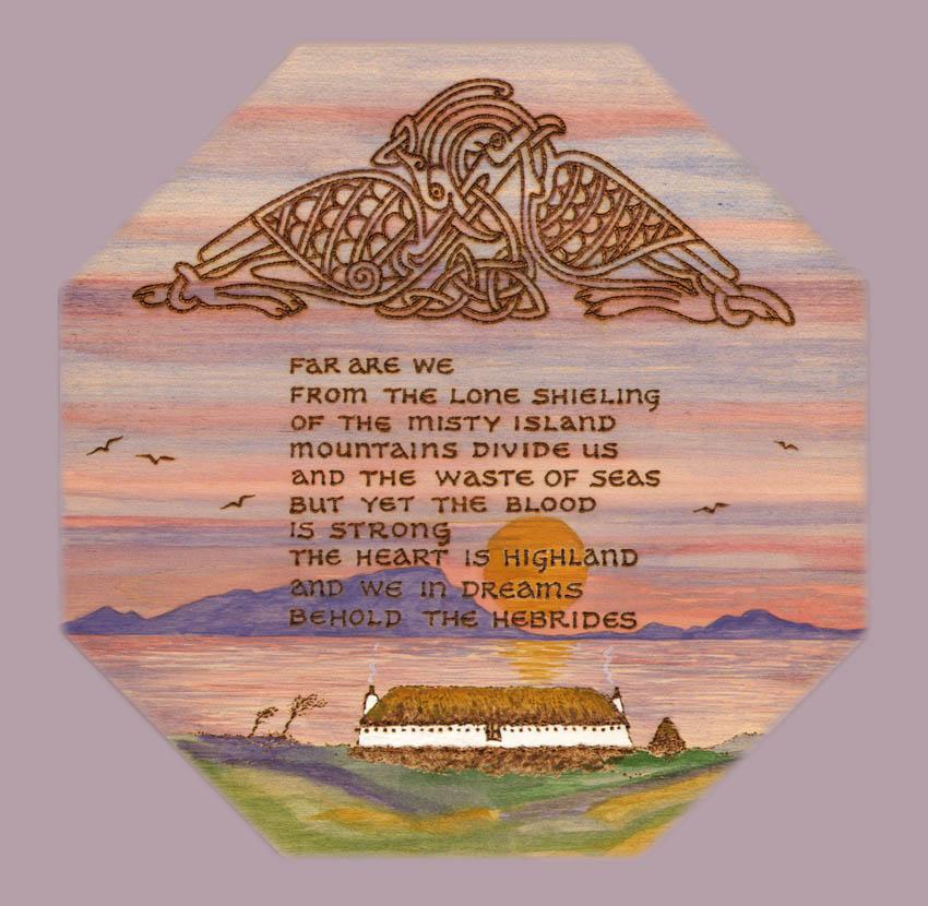 Dandelion Designs: 170 We in Dreams Behold the Hebrides (Canadian