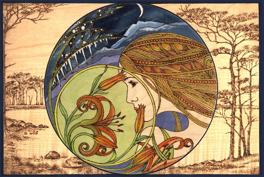 Dandelion Designs:- Cathy Myhilll - 282 Kiss Of Spring II