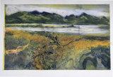 A Walk in the Hebrides VII Collograph 61x50