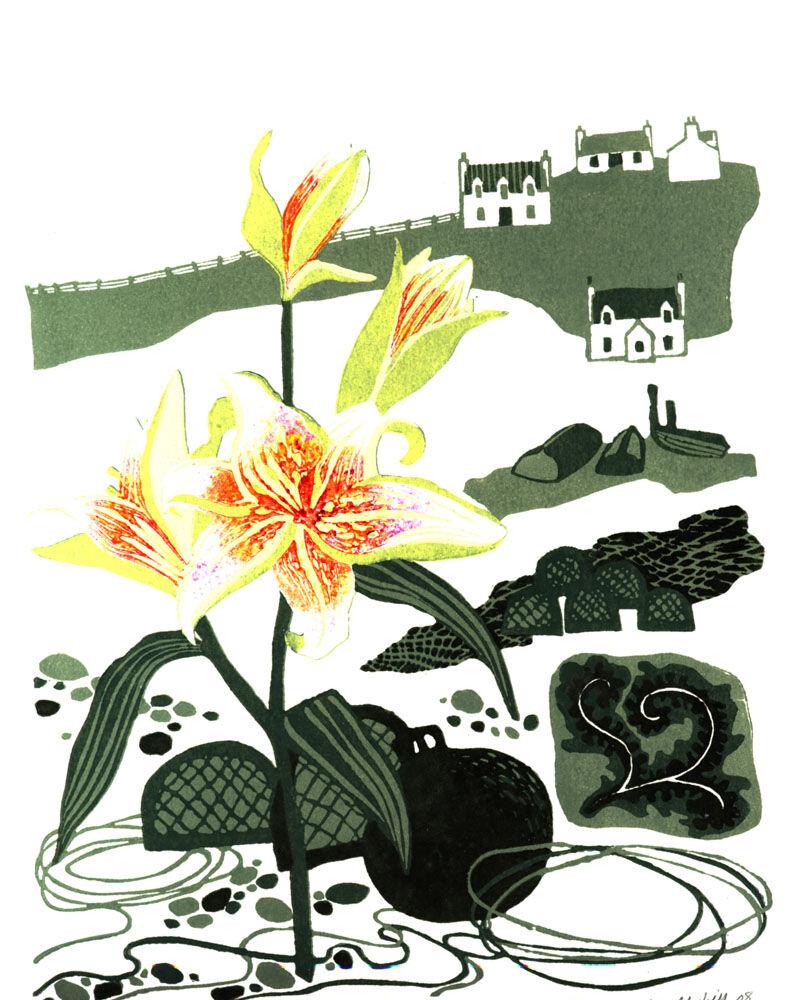 Dandelion Designs:- Liz Myhill: - A Walk at Carnach £140