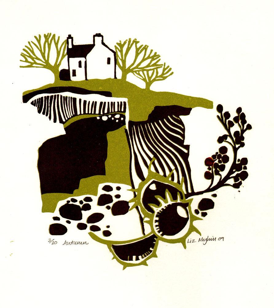 Dandelion Designs - Liz Myhill: Autumn £90