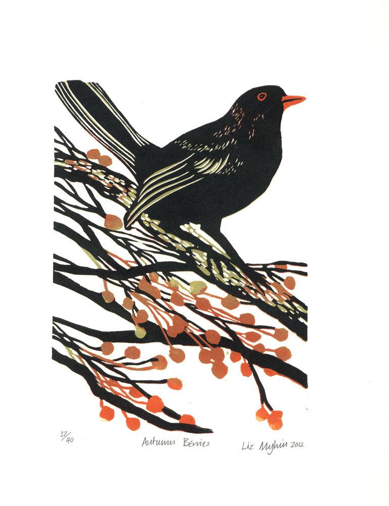 Dandelion Designs - Liz Myhill: Autumn Berries £90