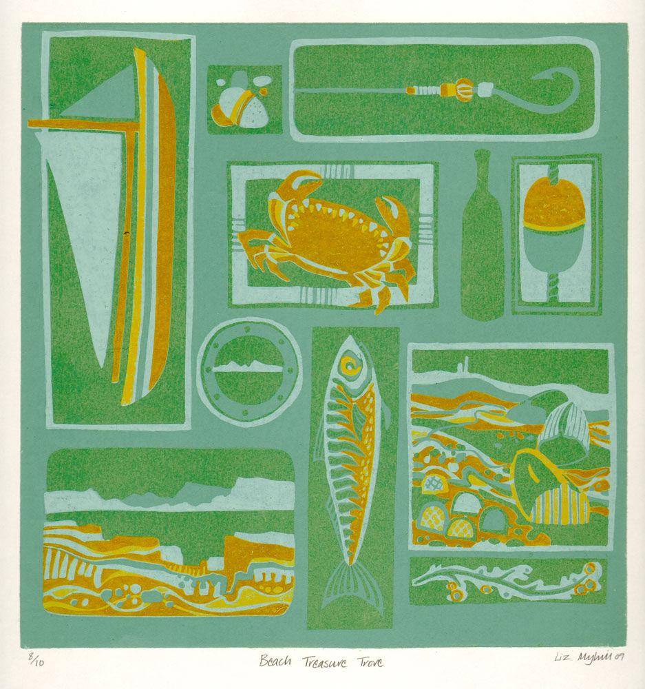 Dandelion Designs - Liz Myhill: Beach Treasure Trove £160